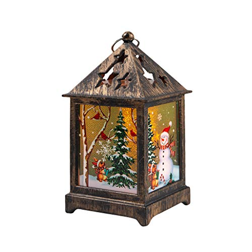 WOAORO Lucine LED Decorative, Cottage incandescente di Natale Luci Natalizie da Esterno ed Interno Decor Bedroom, Feste, Natale, Matrimonio