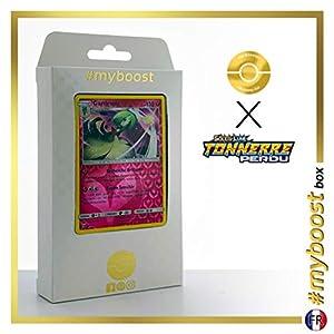 Gardevoir 141/214 Holo Reverse - #myboost X Soleil & Lune 8 Tonnerre Perdu - Box de 10 Cartas Pokémon Francés