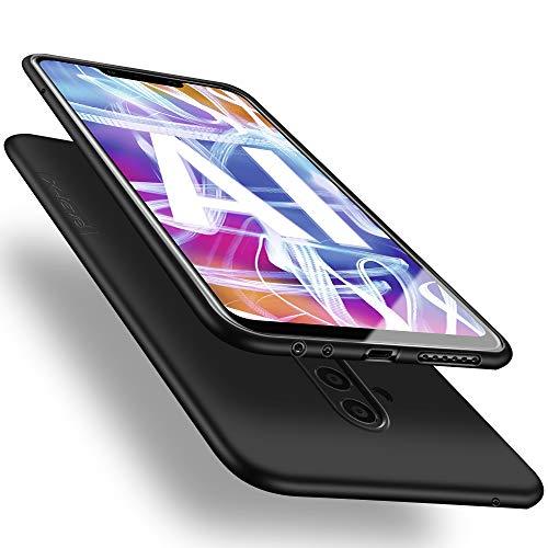 X-level Huawei Mate 20 Lite Hülle, [Guardian Serie] Soft Flex Silikon Premium TPU Echtes Telefongefühl Handyhülle Schutzhülle für Huawei Mate 20 Lite Case Cover - Schwarz