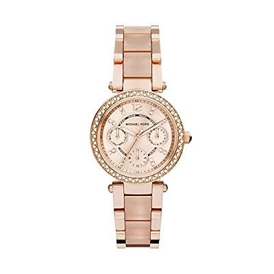 Michael Kors MK6110 - Reloj de pulsera Mujer, Acero inoxidable, color Rosa de Micheal Kors