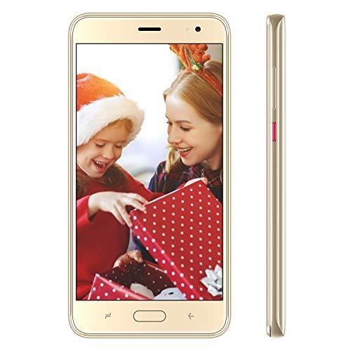 4G Smartphone Pas Cher Android 9.0 16Go de ROM Telephone Portable Debloqué 5.5 Pouces Dual SIM Dual...