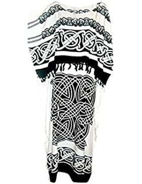 NEW Cool caftanes caftán Plus CELTIC kaftán suave e instrucciones para hacer vestidos talla única Cool caftanes