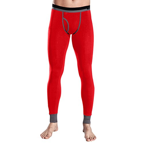 Uomo ENIMASE Modal misti colore termica calze/pantaloni intimo, 6 colori, Price/Pezzi, Idea regalo Rosso