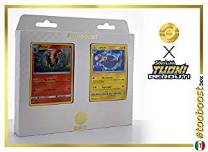Pyroar 51/214 Y Lanturn 74/214 - #tooboost X Sol E & Luna 8 Tuoni Perduti Box de 10 Cartas Pokémon Italiano + 1 Goodie Pokémon