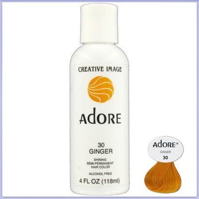 Spülen Sie Semi-permanenten Haar Farbe Ginger (30) 118ml