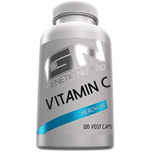 GN Laboratories Health Line Vitamin C Essentiell Wasserlöslich Gesundheit Immunsystem 120 Caps - Vitamin C Detox