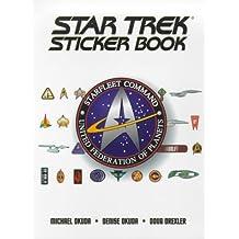 The Star Trek Sticker Book by Michael Okuda (1999-09-01)