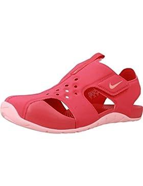 Nike Sandalias y Chanclas Para Niña, Color Rosa, Marca, Modelo Sandalias Y Chanclas Para Niña Sunray Protect 2...