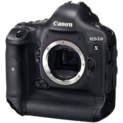 Canon EOS 1D X Boîtier d'appareil-Photo SLR 18.1MP CMOS 5184 x 3456pixels Noir - Appareils Photos numériques (18,1 MP, 5184 x 3456 Pixels, CMOS, Full HD, 1,34 kg, Noir)