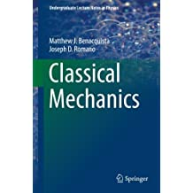 Classical Mechanics (Undergraduate Lecture Notes in Physics)