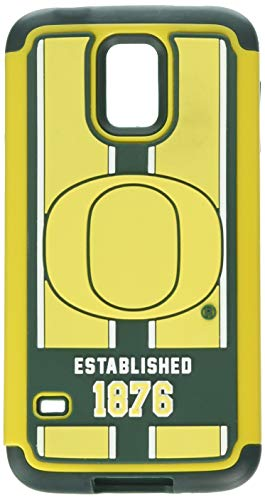 Forever Collectibles NCAA Oregon Ducks Dual Hybrid TPU Schutzhülle für Galaxy S5