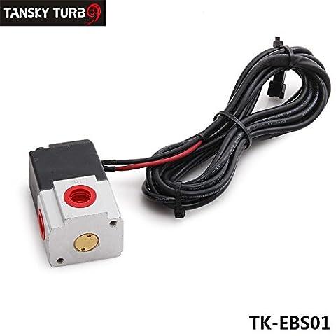 Tansky–Pneumatische Fitting Quick Connect 3Wege-Ventil Electronics Boost Control Magnetspule Kit Adapter 12V Magnetventil tk-ebs01