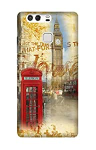 Wow 3D Printed Designer Mobile Case Back Cover for Huawei P9/P9