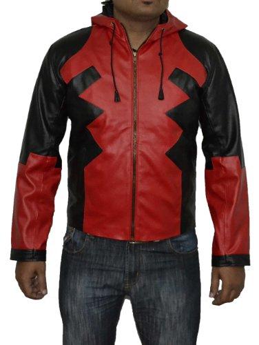 x-men Deadpool version 1-Kostüm Halloween Kunstleder XL V2 in allen Größen (Kostüme Xmen Halloween)