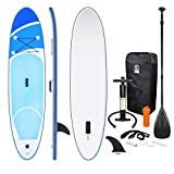 ECD Germany Tabla Hinchable Paddle Surf/SUP - Stand up paddle board - 308 x 76 x...