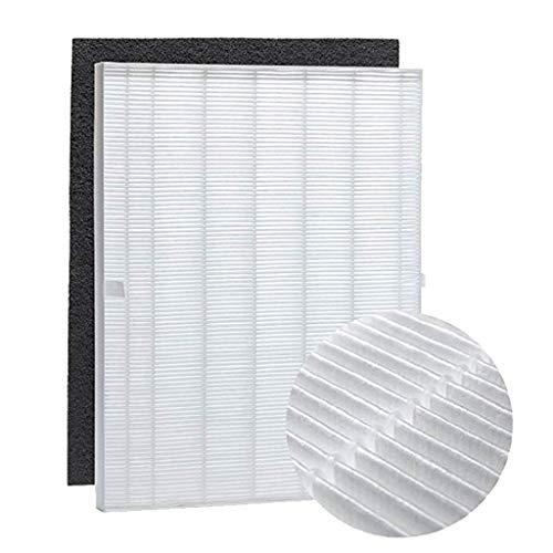 Echte Ersatz-filter (1 Echter HEPA Filter + 4 Carbon Ersatz Filter für Winix 5300 6300 5300-2 6300-2 P300 C535 Purifier Luftreiniger Ewendy Ersatz Zubehör Ersatzfilter für Luftbefeuchter)