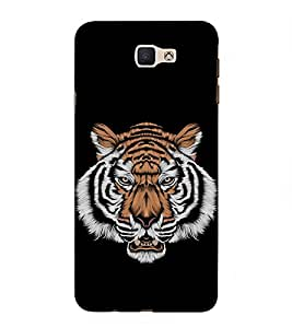 ifasho Designer Back Case Cover for Samsung Galaxy On Nxt (2016) (Tiger Doll Tiger Eye Bracelet Tiger Balm White)