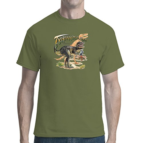 Fun unisex T-Shirt - Urzeit: Tyrannosaurus Rex by Im-Shirt Oliv