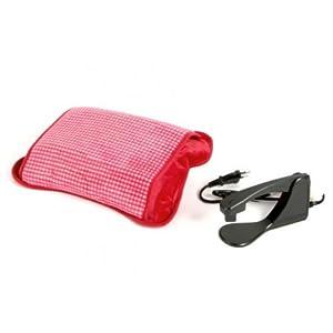 sfluffolo New Rot Elektrische Wärmflasche mit Handytasche
