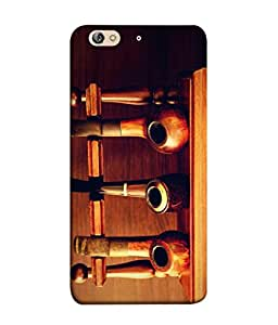 PrintVisa Designer Back Case Cover for Gionee S6 (Old Collection Of Cigar Smoking Cigarette Antique)