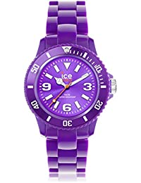 Ice-Watch Armbanduhr ice-Solid Small Violett SD.PE.S.P.12