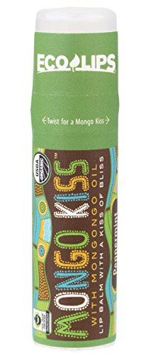 Eco Lips - Mongo Kiss Lip Balm Peppermint - 0.25 oz. by Eco Lips