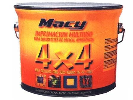 Macy-Macy imprimacion Mehrzweck 4x 4, Größe 0,750L