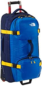 The North Face Longhaul 30 Inch Wheeled Luggage - Nautical Blue/Cosmic Blue, One Size