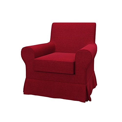 Ikea Fodere Poltrone.Soferia Fodera Extra Ikea Ektorp Jennylund Poltrona Tessuto Classic Red