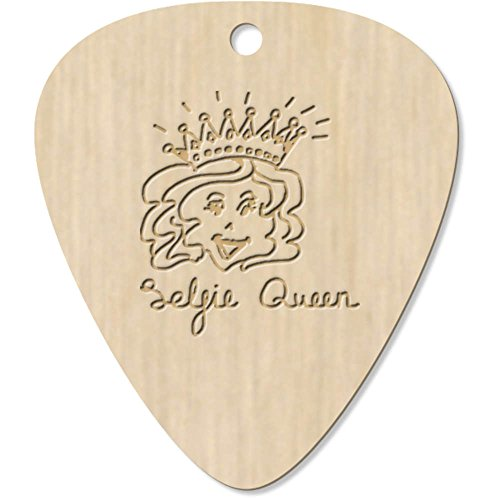 Azeeda 7 x 'Selfie Queen' Guitarra Púa (GP00012553)
