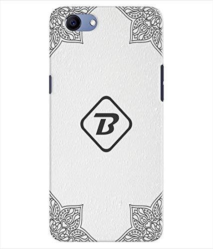Inktree® Printed Designer Silicon Back Cover for RealMe 1 - Alphabet B