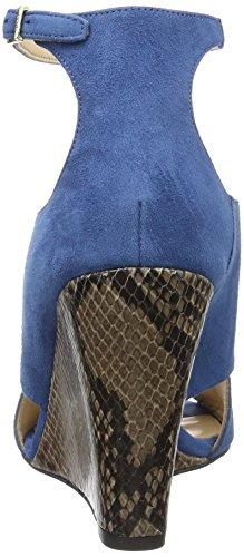 Hugo Danielle 10195652 01, Sandales Bout Ouvert Femme Bleu (Medium Blue 428)
