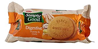 Parle Simply Good Digestive Biscuit - Honey & Oats, 100g Pouch
