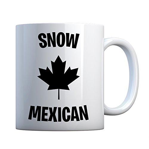 Indica Plateau Snow mexicain en céramique Mug cadeau 11oz blanc nacré