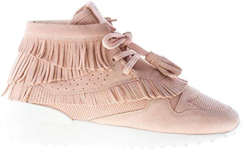 Tod's Tod's Tod's Donna scarpe da ginnastica Alta in camoscio rosa con Frange   Qualità In Primo Luogo    Scolaro/Ragazze Scarpa  7073b8