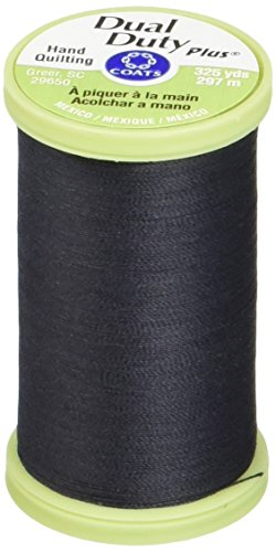 Coats Double Duty Plus Quilting main Thread 325 mètres-noir