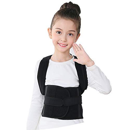 Teen Posture Corrector Rückenlehne Unterstützung Kind-schwarz,XL