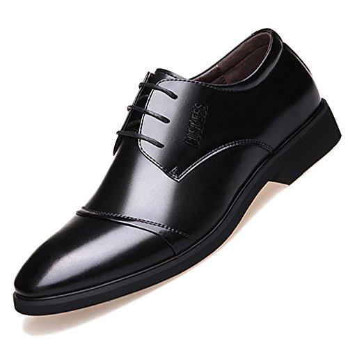 Chaussures En Cuir Formelles Uniformes Pour Hommes Chaussures à Lacets Classiques Oxford Chaussures De Mariage Pour Femmes