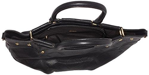 Betty Barclay Damen Henkeltaschen, 38x28x20 cm Schwarz (Black)
