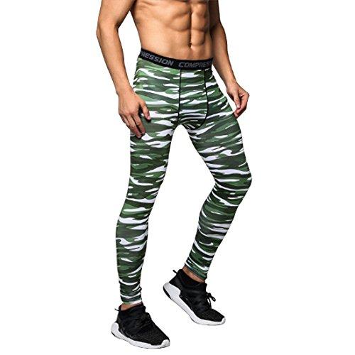 Qduoduo Mens Base Layer Leggings Gym Sport Laufen Radfahren Thermische Hosen Lange Hosen Compression Sportswear Stretch Strumpfhosen A99 Base
