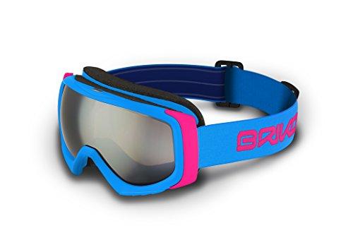 Briko Caldera – Masque de ski unisexe, couleur bleu, taille unique