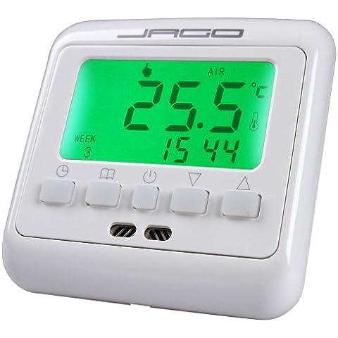 Jago RMTMS01 Termostato d'ambiente con (7 Giorni Programma Termostato)