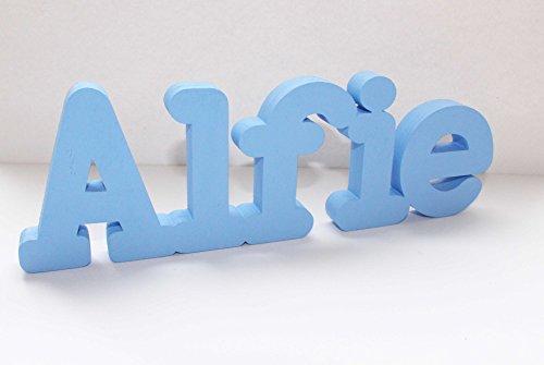 Cartello con nome personalizzabile da tavolo, regalo di compleanno, feste, matrimoni, ideale come centrotavola matrimoniale o come decorazione, ideale come regalo per il battesimo
