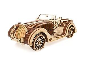 UGEARS UGE 412081 puzle 3D - Puzles 3D (437 Pieza(s), Roadster VM-01, 14 año(s), 240 - 480 min, Niño, Madera contrachapada)