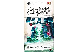 Asmodee Italia - La Leyenda de los Cinco Anillos LCG expansión El Juego del Crisantemo Living Card Game, Color, 9109