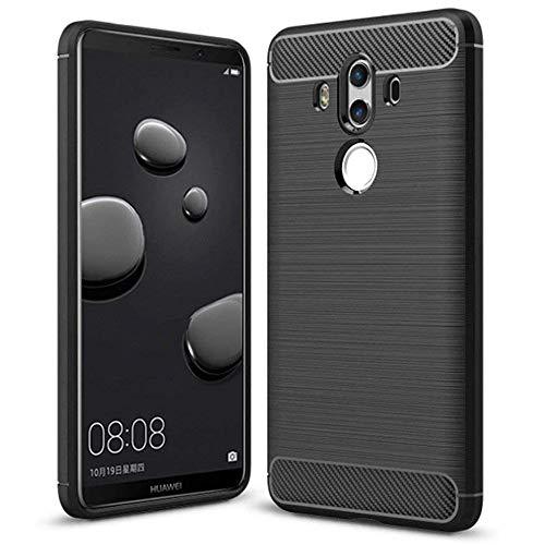 Huawei Mate 10 Pro Hülle TPU Case, AVIDET Ultra Slim TPU Case für Huawei Mate 10 Pro Schutzhülle (Schwarz)