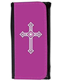 Large Faux Leather Wallet // Q09430621 christian cross 53 Byzantine // Large Size Wallet