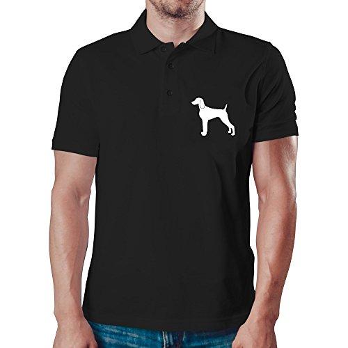 Eddany Weimaraner silhouette Polo-Hemd -