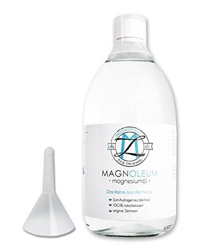 magnesiumöl Spray ZECH piedra magnoleum 100ml de cristal pulverizador dermatológicamente probada clínicamente-Magnesio de Sole-Cloruro de magnesio-Magnesio Oil Natural-Magnesio aceite