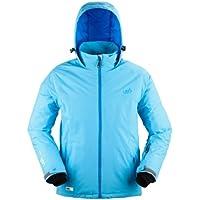 Urban Beach Winterjacke Canopy - Chaqueta de esquí para mujer, color azul, talla S